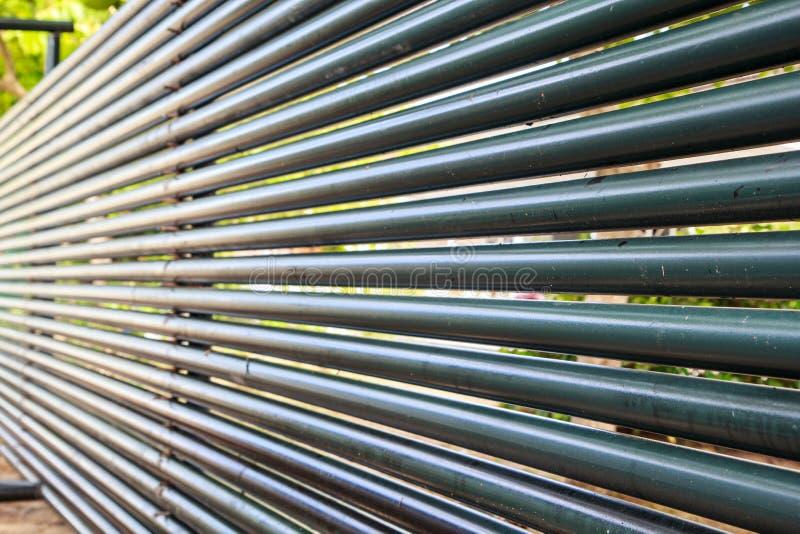 Petróleo y gas horizontal estructural del tubo fotografía de archivo libre de regalías