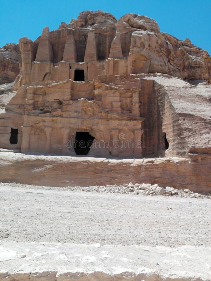 Petra Ιορδανία στοκ φωτογραφία