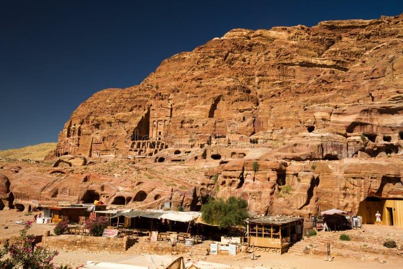 PETRA της Ιορδανίας στοκ φωτογραφίες με δικαίωμα ελεύθερης χρήσης