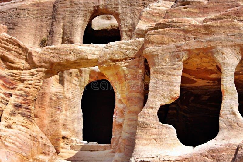 petra Иордана стоковое изображение rf