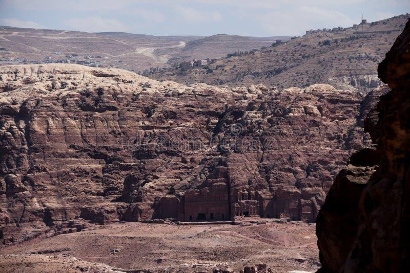 petra Иордана стоковое изображение