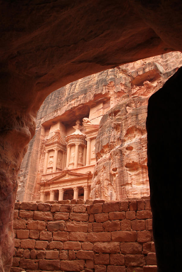 Download Petra stock image. Image of history, middle, canyon, rock - 17717395