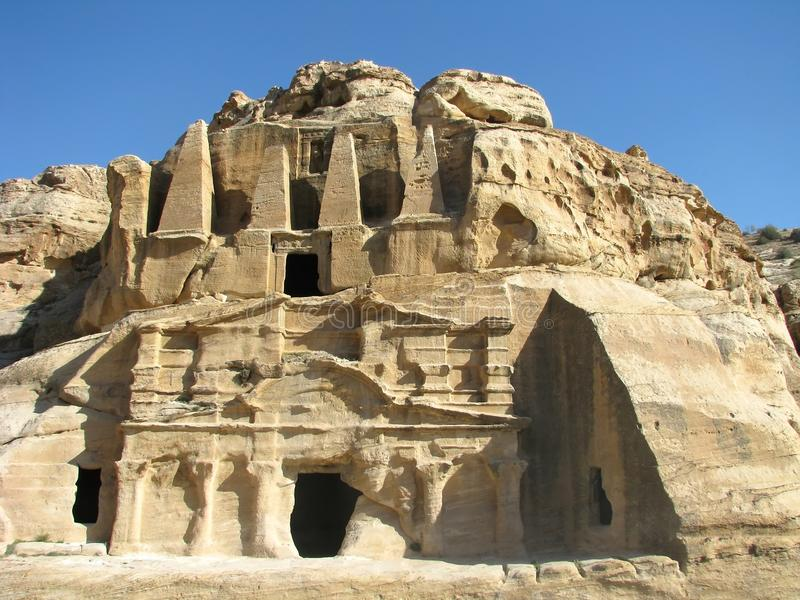 Download Petra stock image. Image of outdoor, archaeology, feature - 22459363
