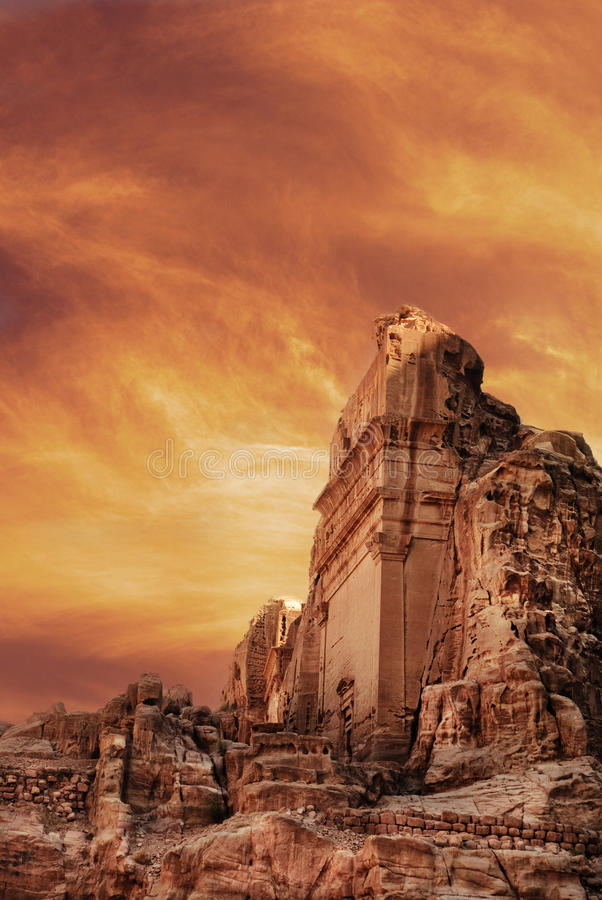Download Petra stock image. Image of asia, ancient, monastery - 26674181