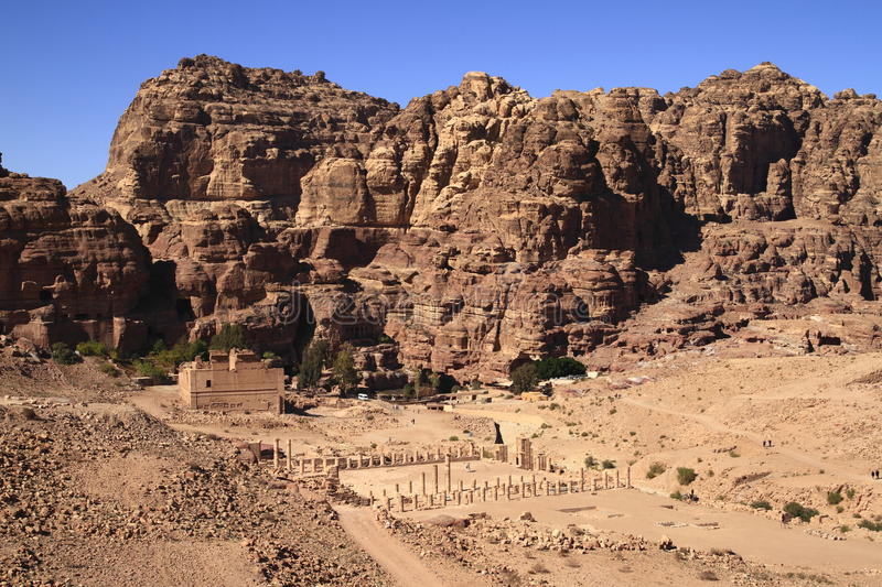 Download Petra stock image. Image of arabia, antiquities, archeology - 26696157
