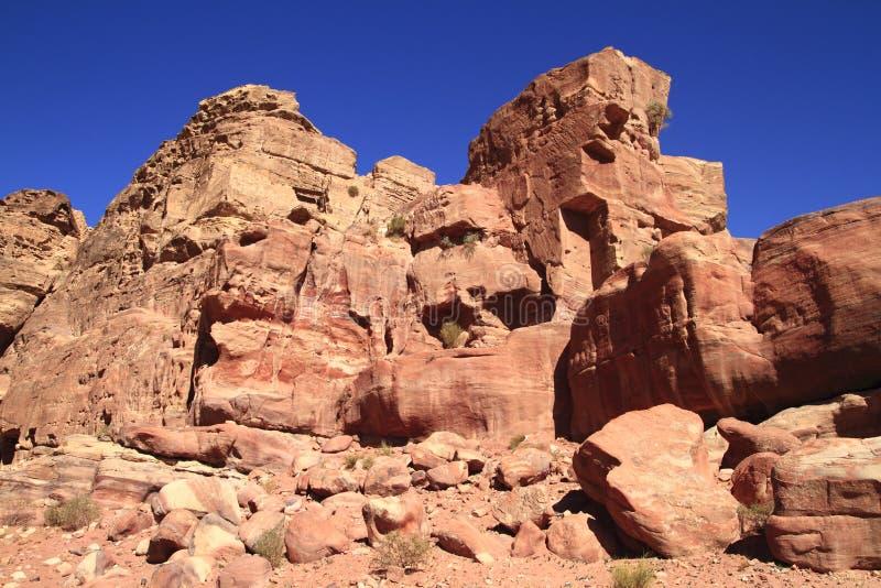 Download Petra stock image. Image of landscape, famous, kingdom - 26696209