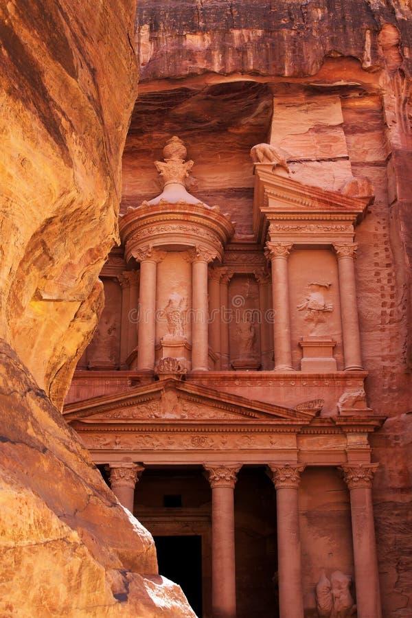 PETRA em Jordão imagem de stock royalty free