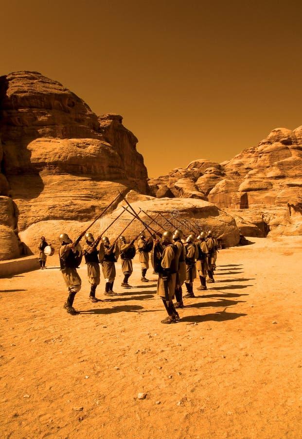 Petra-Guards royaltyfri bild