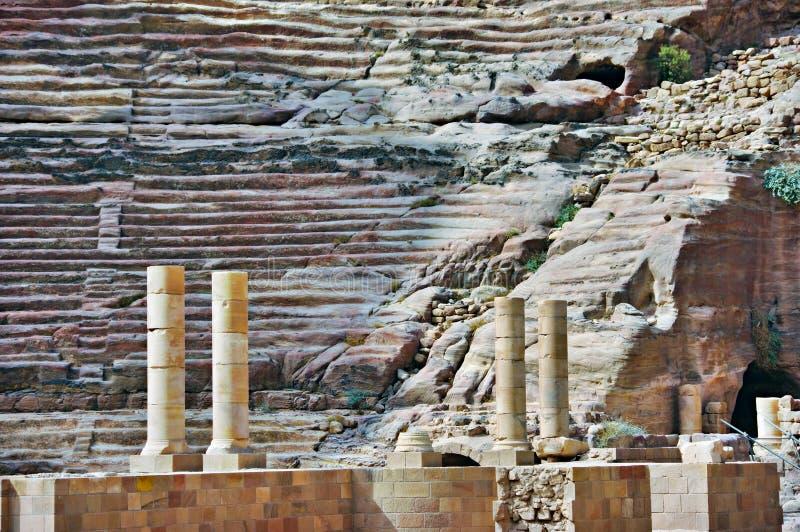 PETRA, Jordão. imagem de stock royalty free
