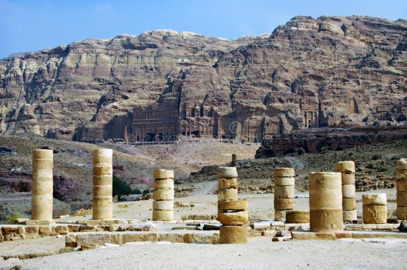 PETRA, Jordão. fotos de stock royalty free