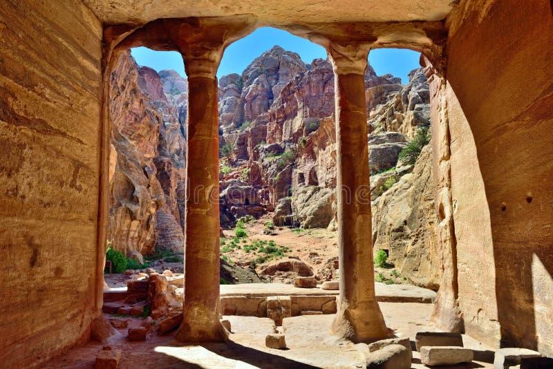 PETRA, Jordão foto de stock royalty free
