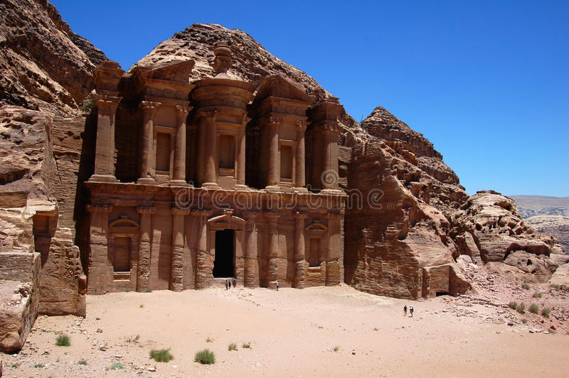 Petra,Jordan stock images