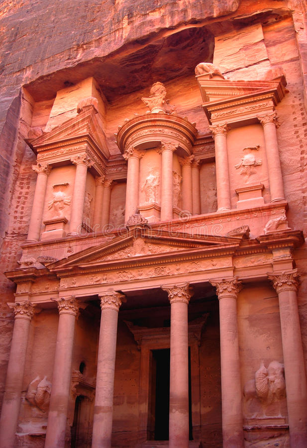 Petra,Jordan stock photography