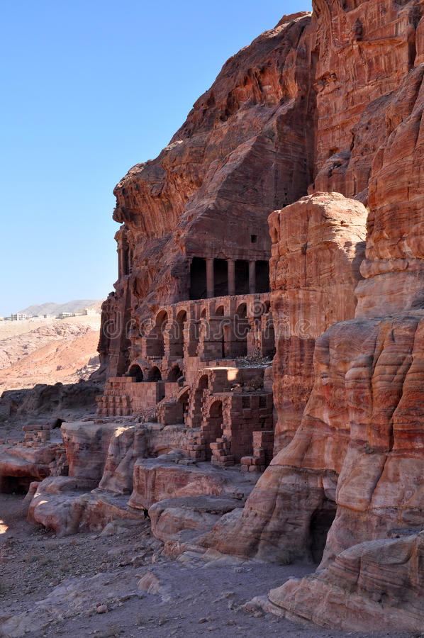 Download Petra-Jordan stock photo. Image of detail, ancient, locations - 27766998