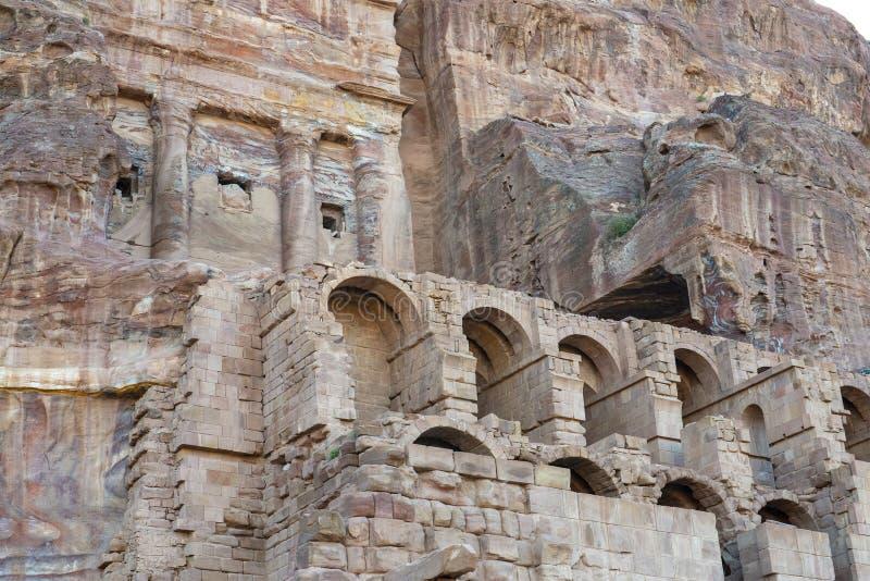 PETRA, Jordan Travel, H?hlen, Mittlere Osten lizenzfreie stockfotografie