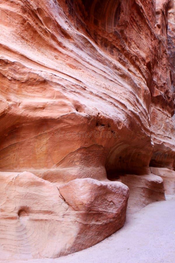 Download Petra in Jordan stock image. Image of nabataean, treasure - 104375387