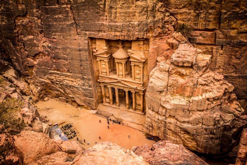 Petra Jordanië royalty-vrije stock afbeeldingen