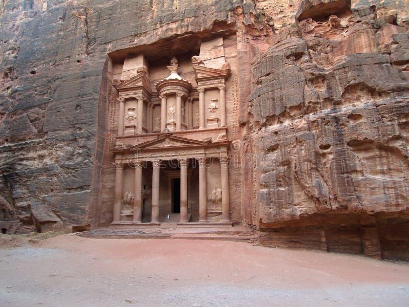 Petra - Jordania foto de archivo libre de regalías