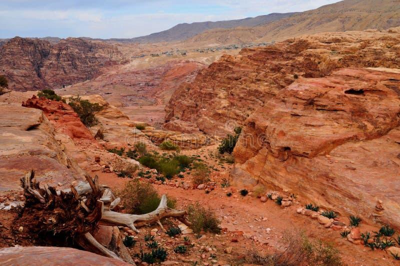 Petra - Jordania fotos de archivo