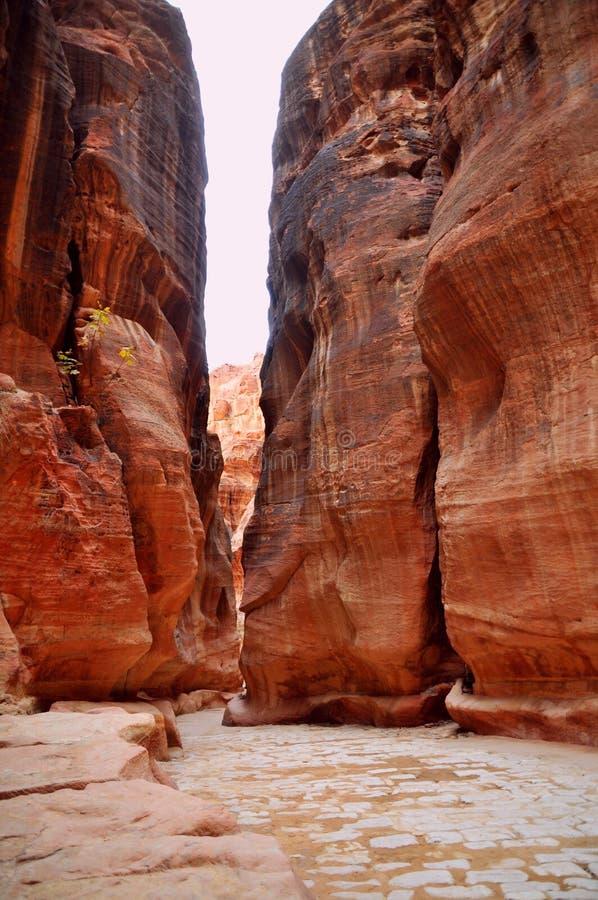 Petra - Jordania imágenes de archivo libres de regalías