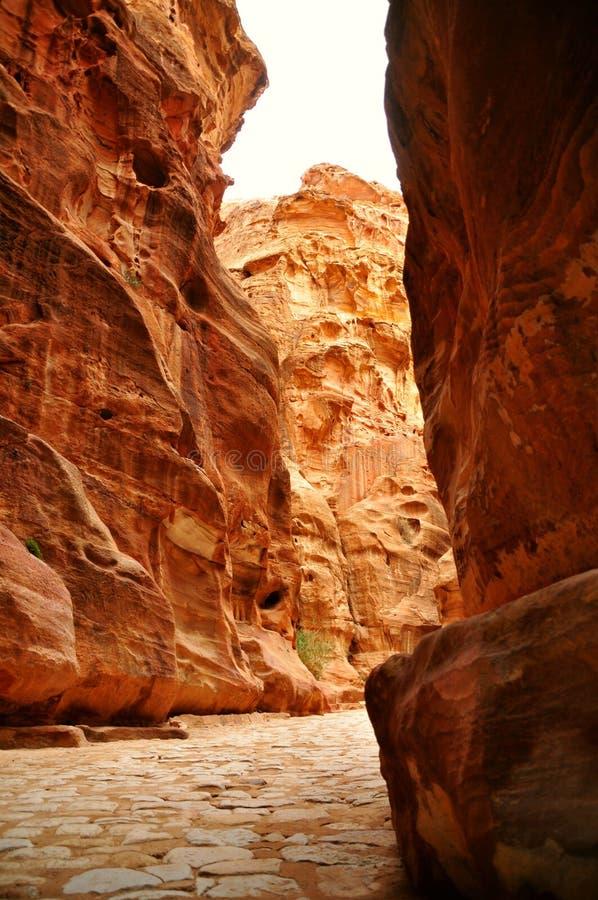 Petra - Jordania fotos de archivo libres de regalías