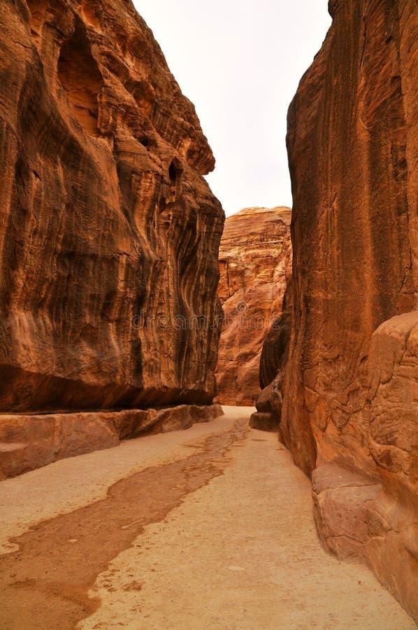 Petra - Jordania imagenes de archivo
