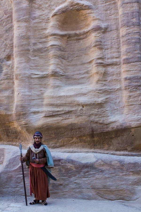 Petra - Jordania fotografía de archivo