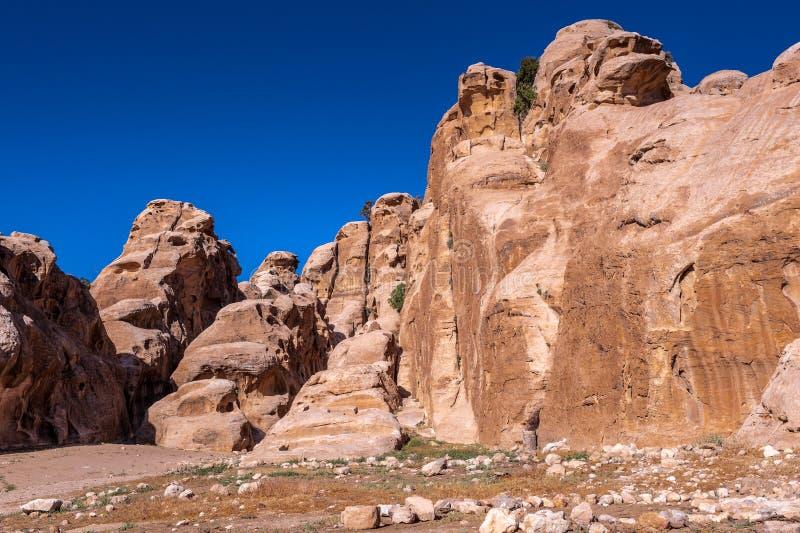 PETRA, Jordanie photographie stock