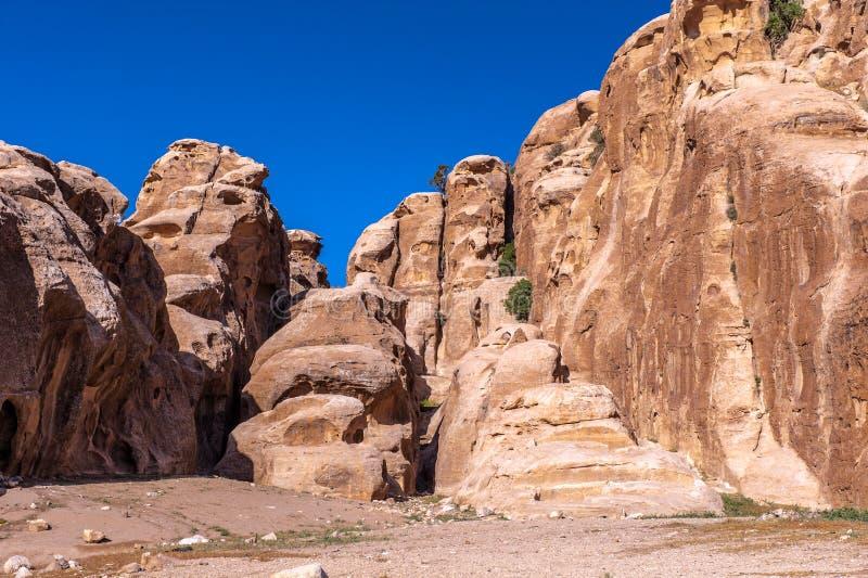 PETRA, Jordanie photos libres de droits