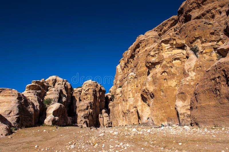 PETRA, Jordanie images stock
