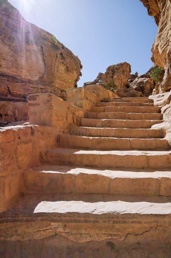 PETRA, Jordanien stockfotografie