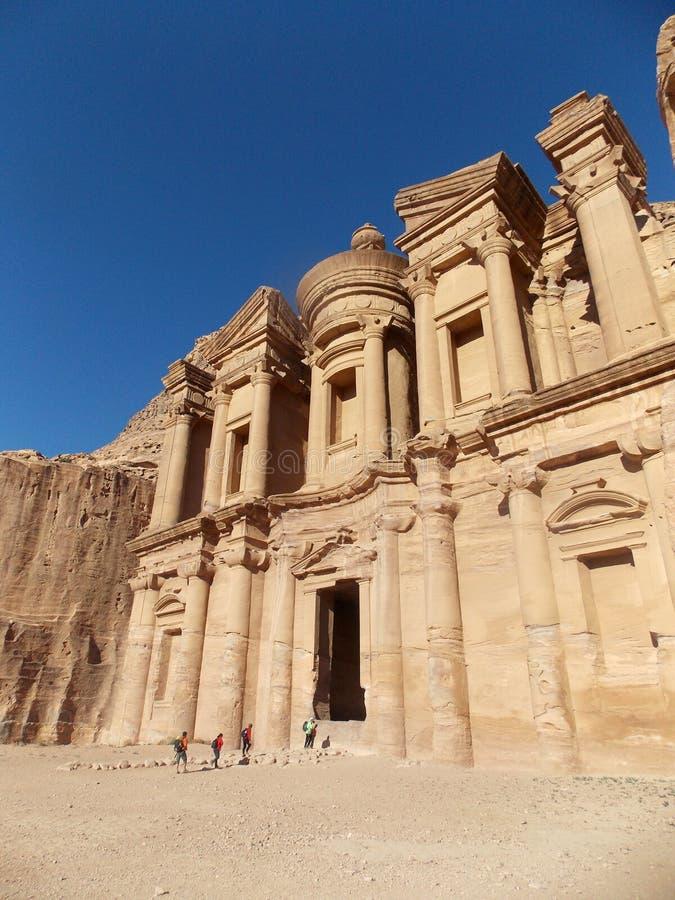 Petra krajobrazy, Jordania zdjęcie royalty free