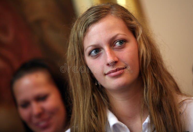 PETRA Kvitova photo stock