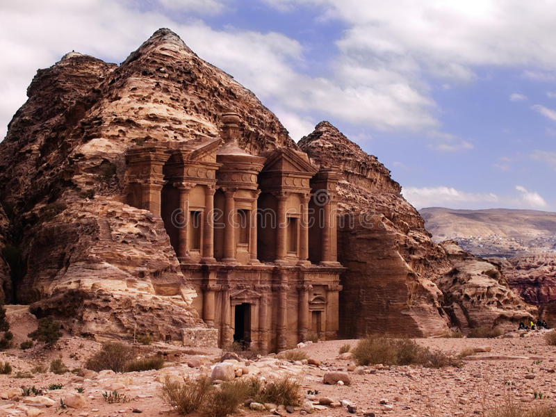 Download Petra monastery stock photo. Image of historical, arabian - 11127134