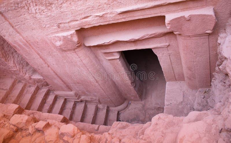 Petra - nuevo descubrimiento fotos de archivo libres de regalías