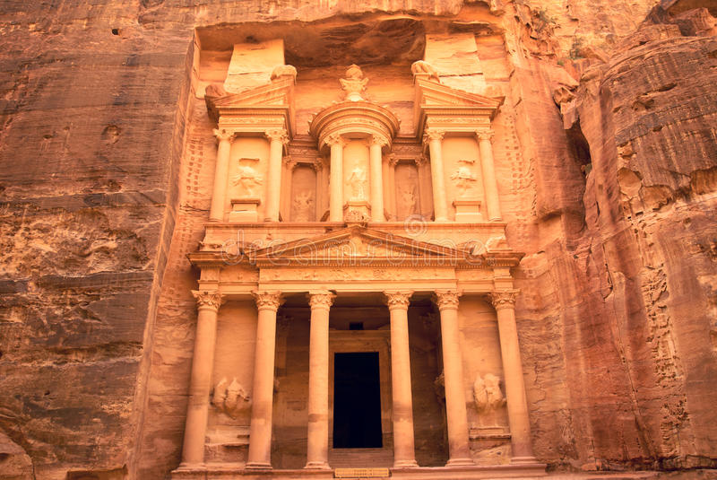 Download Petra's Tresure stock image. Image of exterior, sandstone - 14152165
