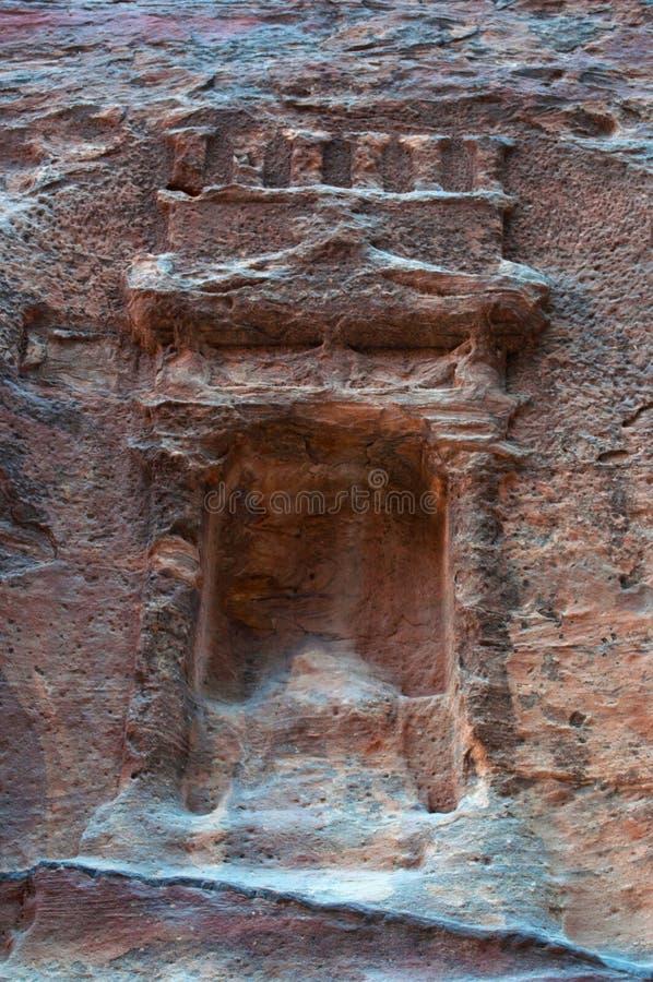 Petra som är arkeologisk parkerar, Jordanien, Mellanösten royaltyfri foto