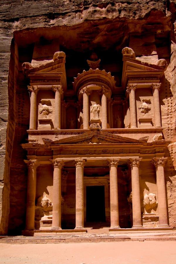 Petra-Treasury royalty free stock images