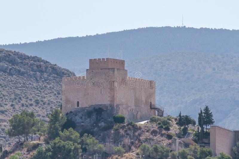 Petrer slott fotografering för bildbyråer