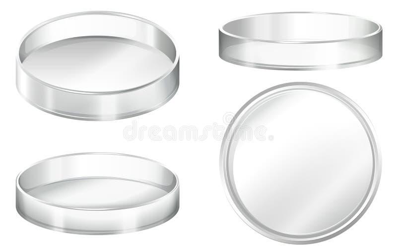 Petri Dish stock illustrationer