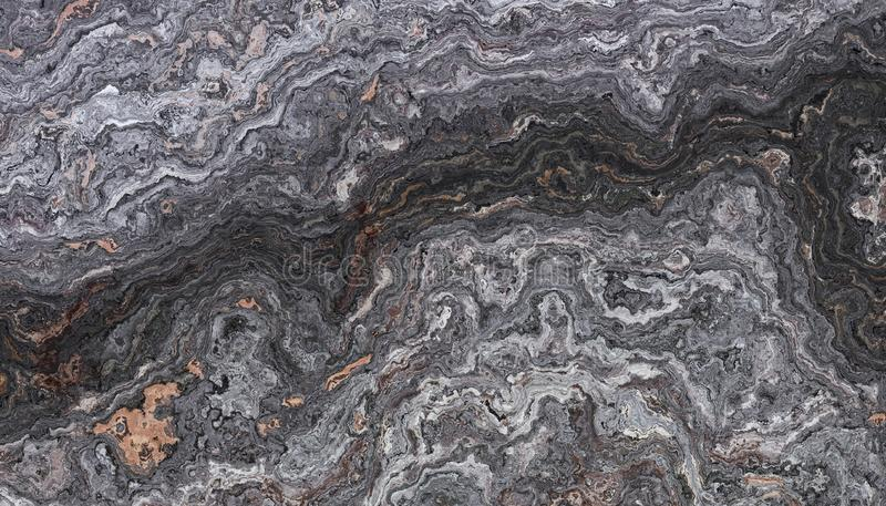 Petrified Wooden Marble Stone royalty free illustration
