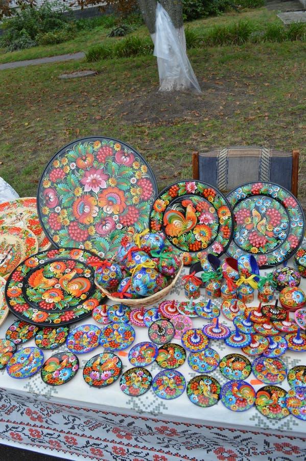 Petrikovka Östlich von Ukraine 15. November 2018-jährig lizenzfreie stockfotografie