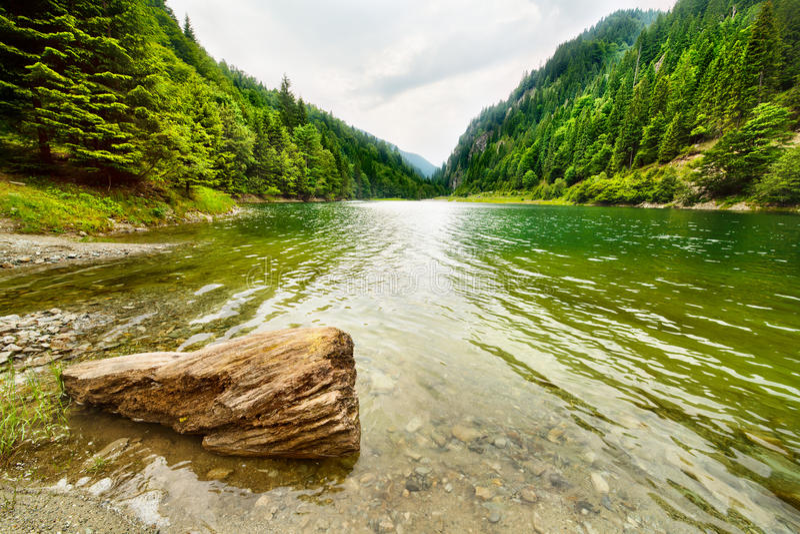 petrimanu Ρουμανία λιμνών στοκ φωτογραφία με δικαίωμα ελεύθερης χρήσης