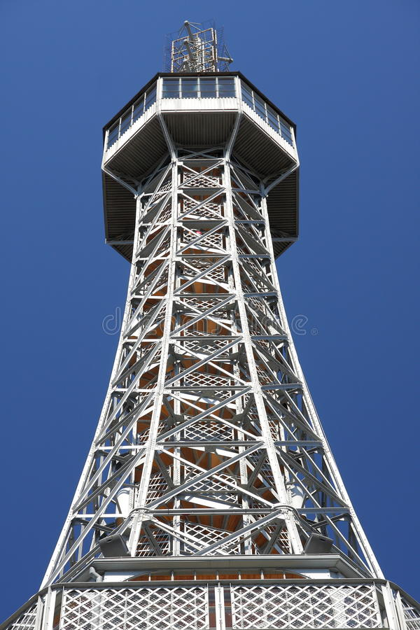 Download The Petrin lookout tower stock photo. Image of frame - 24028758