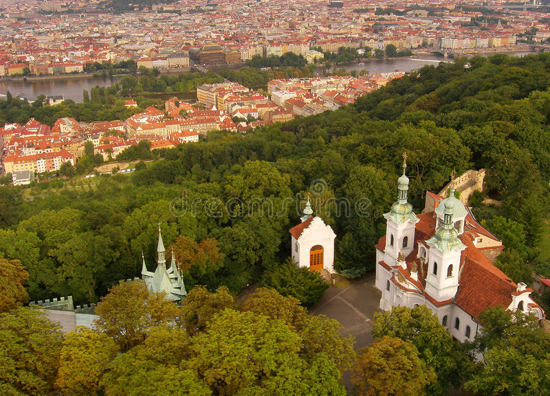 petrin Prague zdjęcie royalty free