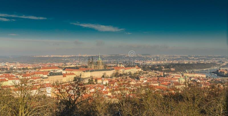 petrin Prague zamek obraz royalty free