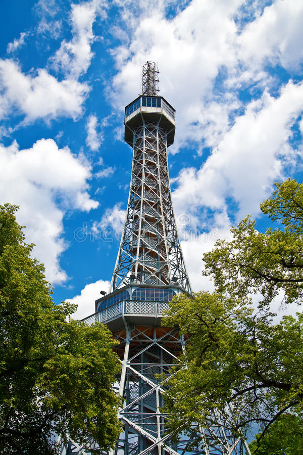 Download Petrin Tower - 2 stock photo. Image of contemporary, civil - 26844868