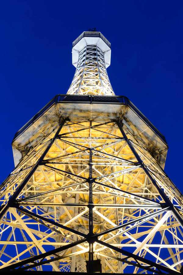 Download Petrin tower stock image. Image of eiffel, background - 20391663