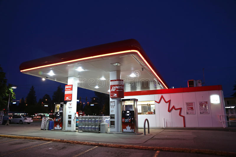 Petro加拿大 免版税库存图片