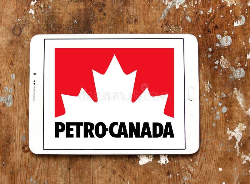 Petro Canada-bedrijfembleem royalty-vrije stock foto's